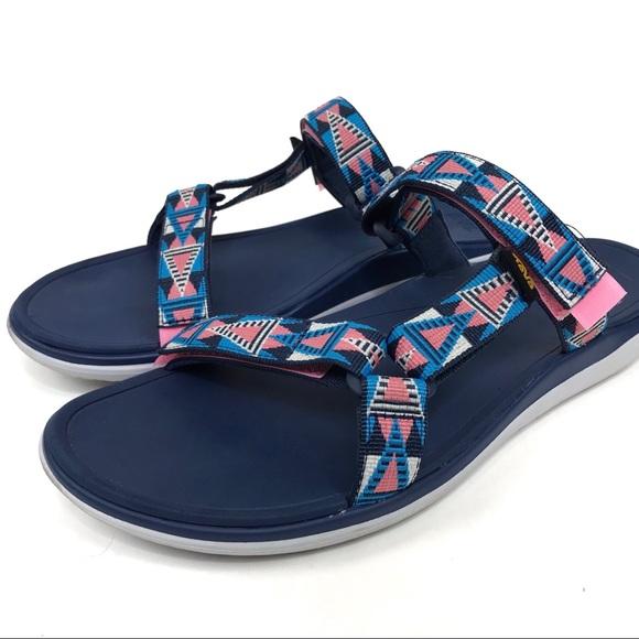 finest selection 6435a 015e8 Teva 1984 Velcro Retro Strap Sandals Size 11